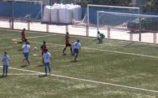 Un penalti a lo Suárez y Messi en la Tercera malagueña