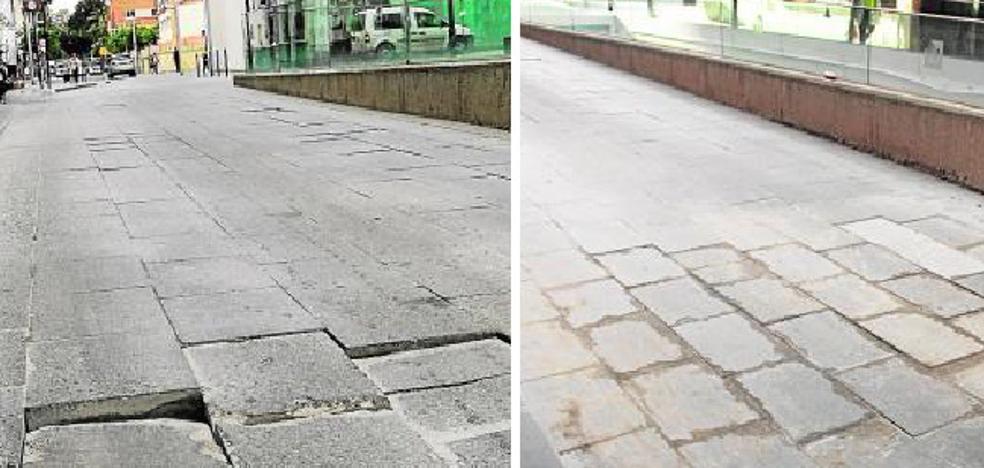La Malagueta: Apaño en calle Maestranza