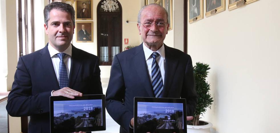 Los últimos presupuestos del mandato disparan la inversión en Málaga