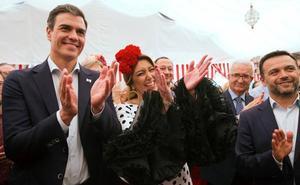 Susana Díaz y Pedro Sánchez, juntos de nuevo en la Feria de Sevilla