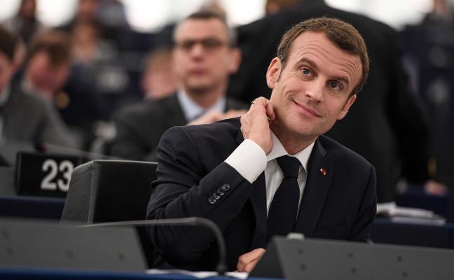 Macron aviva la llama del europeísmo