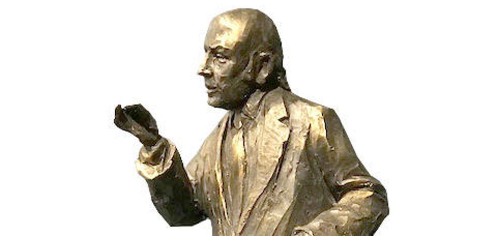 Una escultura de Chiquito de la Calzada presidirá el Pasaje de Chinitas en Málaga