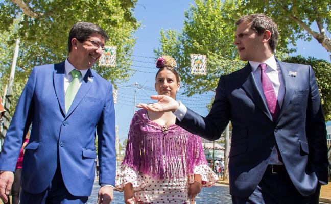 Rivera: «Al PSOE se le puede ganar en Andalucía y no tiene por qué ser el PP»