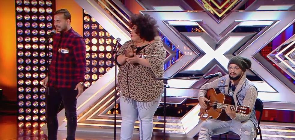El flamenco fusión de los malagueños 'Sol de son' conquista a los jueces de 'Factor X'
