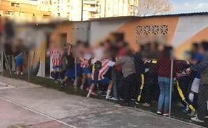 Multitudinaria pelea tras el partido Torcal La Paz-Bonela Yunquera