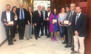Mercadona, el Teatro Cervantes, Dismálaga y la UVI de Carlos Haya, premios Málaga de Consumo