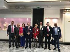 Representantes de la pasa de la Axarquía asisten en Roma a su declaración como Patrimonio Agrícola Mundial