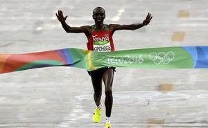 Eliud Kipchoge: «Tengo en mis piernas el récord mundial»