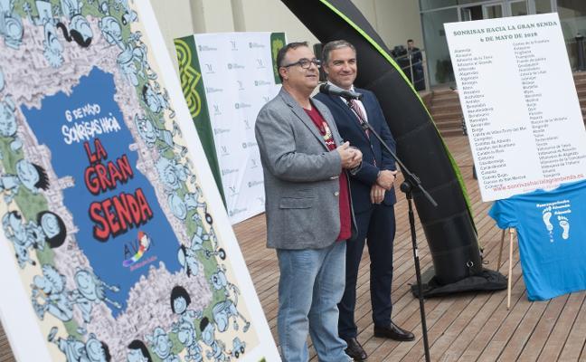 Más de 60 municipios se unen en una caminata a favor de niños con cáncer