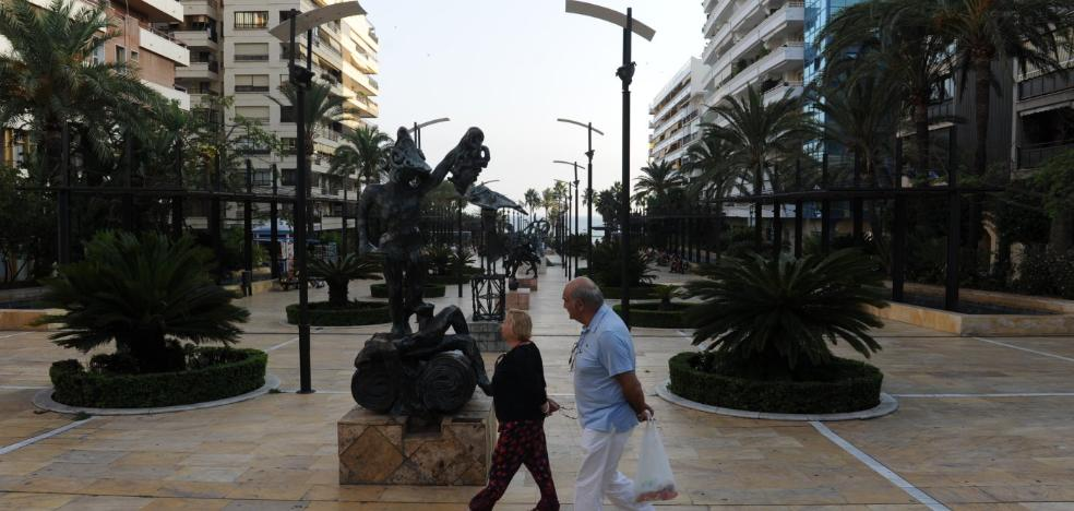 Marbella extenderá la videovigilancia al centro de la ciudad y a las vías principales de San Pedro