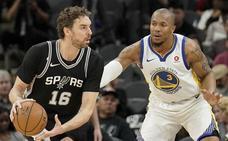 Los Spurs de Pau Gasol se toman un respiro en playoffs al vencer a los Warriors
