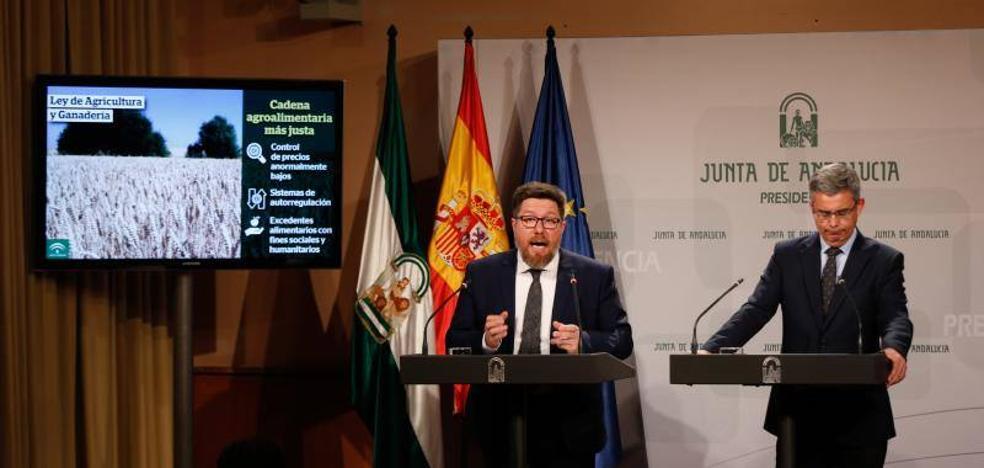 La Ley de Agricultura andaluza sanciona los precios a la baja temerarios