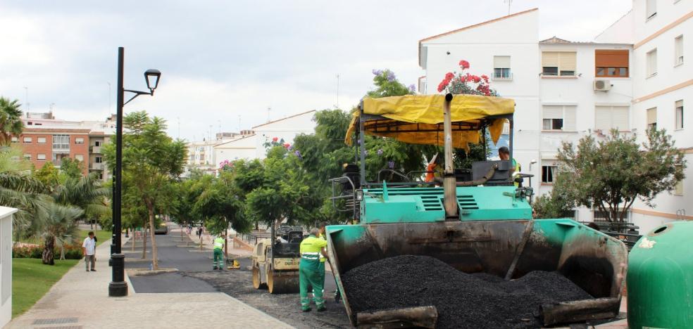 El IV Plan de Asfaltado comenzará en mayo y mejorará 50 calles de Estepona