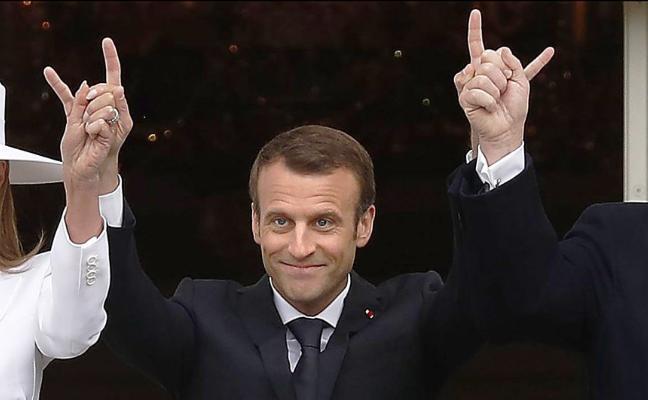 Trump amenaza a Irán y sugiere ante Macron que dará al traste con el acuerdo nuclear