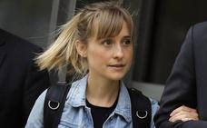 Libertad bajo fianza para la actriz de 'Smallville' Allison Mack