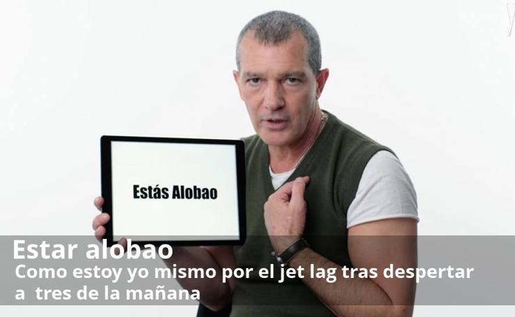 El peculiar diccionario de español de Banderas para los americanos en 12 expresiones coloquiales