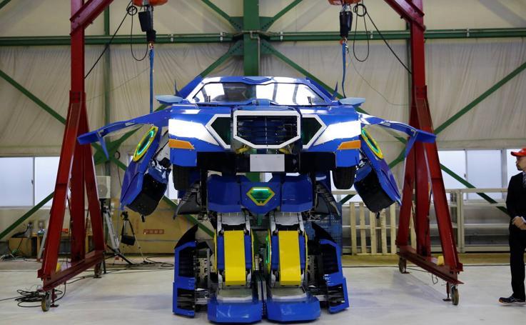 Los 'transformers' que se convierten en coche, una realidad