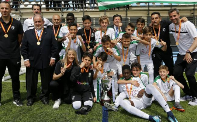 Andalucía, campeona de España sub-12 de fútbol-8 al derrotar en la final a la selección de Cataluña