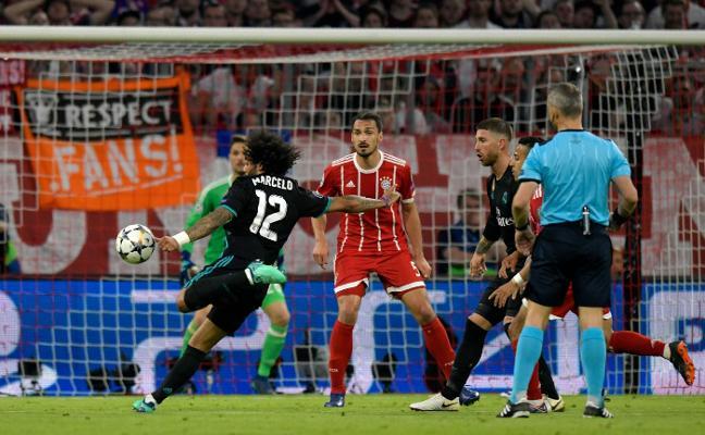 El Real Madrid vuelve a sacar oro de Múnich