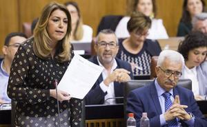 Susana Díaz anuncia aplicar el IPC por ley a la subida de pensiones asistenciales