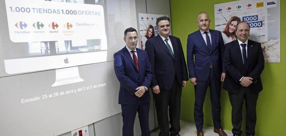 Carrefour alcanza las 1.000 tiendas en España
