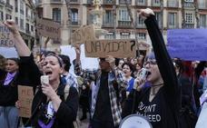 Málaga se echa a la calle contra la sentencia a 'La Manada'