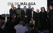 De la heroicidad a la generosidad: estos son los premiados en el XV Día de la Provincia de Málaga