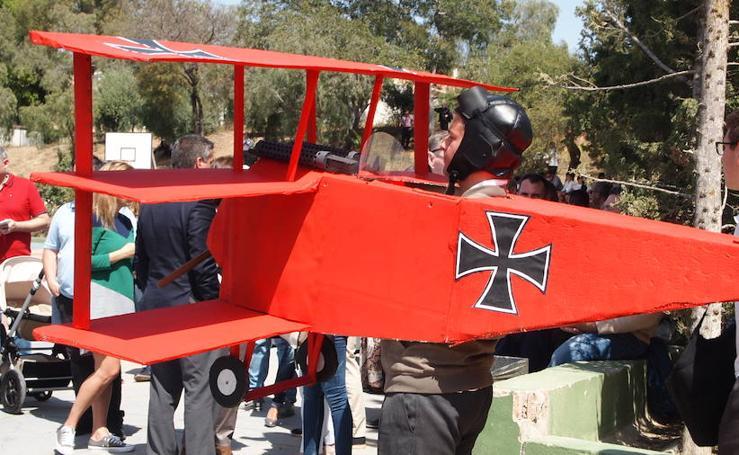 Los alumnos del Colegio El Romeral recrean la Primera Guerra Mundial