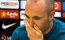 Iniesta: «El Barça se merece lo mejor de mí y ya no podría dárselo»