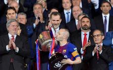 Andrés Iniesta, un palmarés plagado de títulos