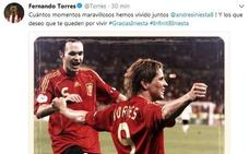 El mundo del fútbol elogia a Andrés Iniesta