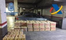 Siete detenidos e intervenidas 2,7 toneladas de hachís en Málaga y Cádiz