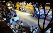 Tres heridos en una pelea «con palos y sillas» en un bar de la avenida Plutarco de Teatinos