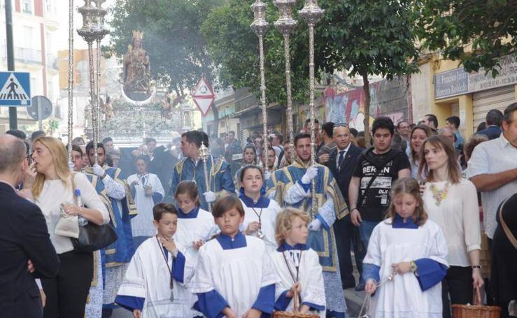 Fotos del traslado de la Virgen de la Victoria a la Catedral