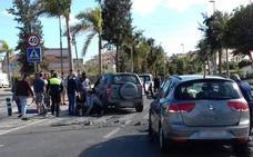 Ocho heridos en una colisión tras saltarse un stop en Torre del Mar