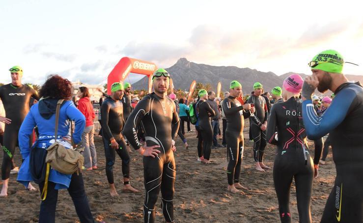 El primer Ironman 70.3 de Marbella, en imágenes