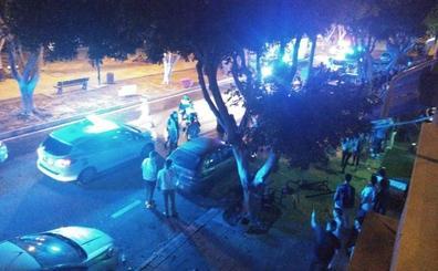 El vídeo de un vecino sobre la pelea con palos y sillas que se saldó con tres heridos en Teatinos: «Esto es una vergüenza»