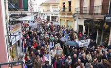 Multitudinaria manifestación en Ronda para exigir una conexión por autovía