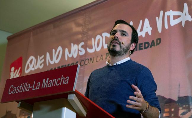 La alianza con Podemos amenaza el liderazgo de Garzón en Izquierda Unida