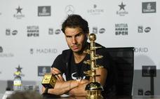 Rafa Nadal: «Mi objetivo es ser feliz y también ganar»