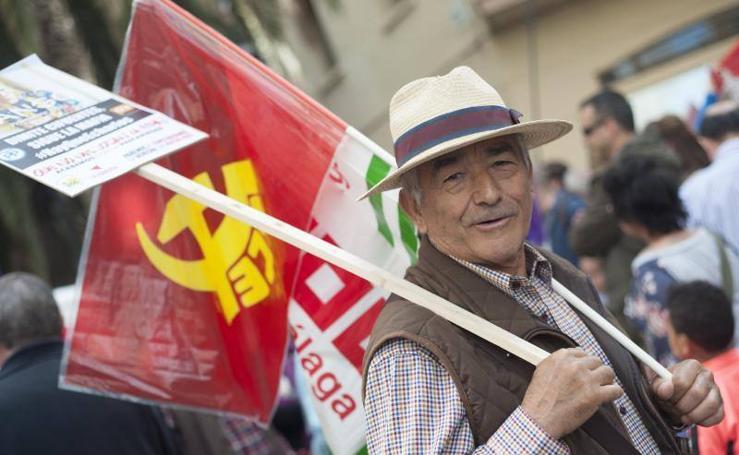 La manifestación del Primero de Mayo, en fotos