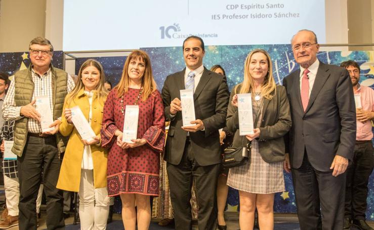 Premios por la lucha contra la pobreza: gala de Caixa Proinfancia