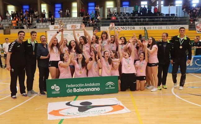 El Colegio Maravillas se proclama Campeón de Andalucía cadete