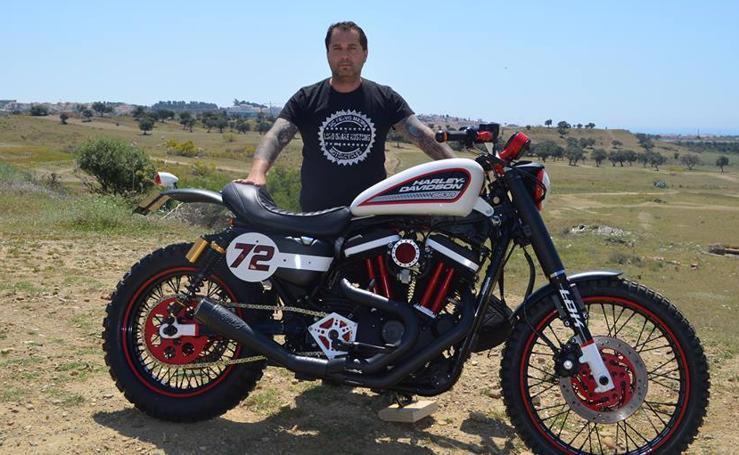 Francisco Alí Manen y sus famosas motos customizadas