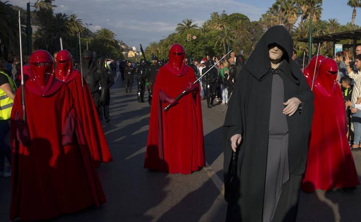 Desfile de la Legión 501 de Star Wars por el Centro de Málaga