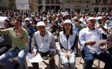 Jubilados malagueños se suman a la jornada nacional de protesta para reclamar pensiones dignas