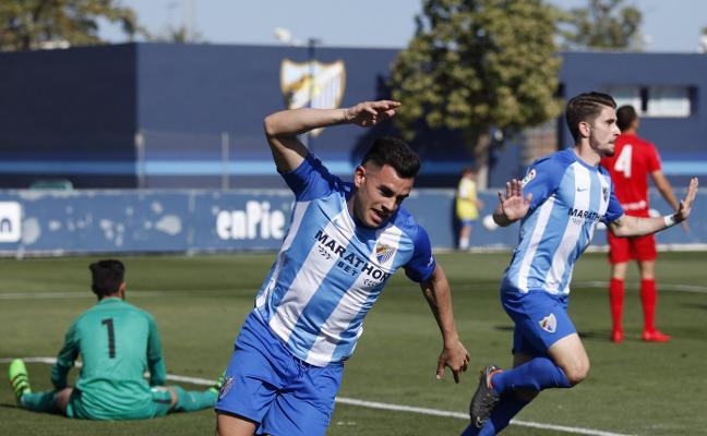 El Malagueño demuestra ante el Almería B por qué es el campeón