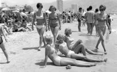 65 años de bikini en Benidorm