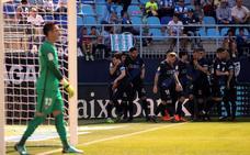 Un buen Alavés humilla al Málaga