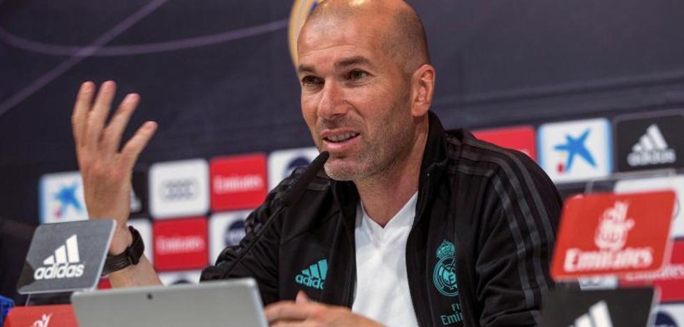 Zidane: «¿El clásico? Antes pasaban muchas cosas, pero hoy se sabe todo»